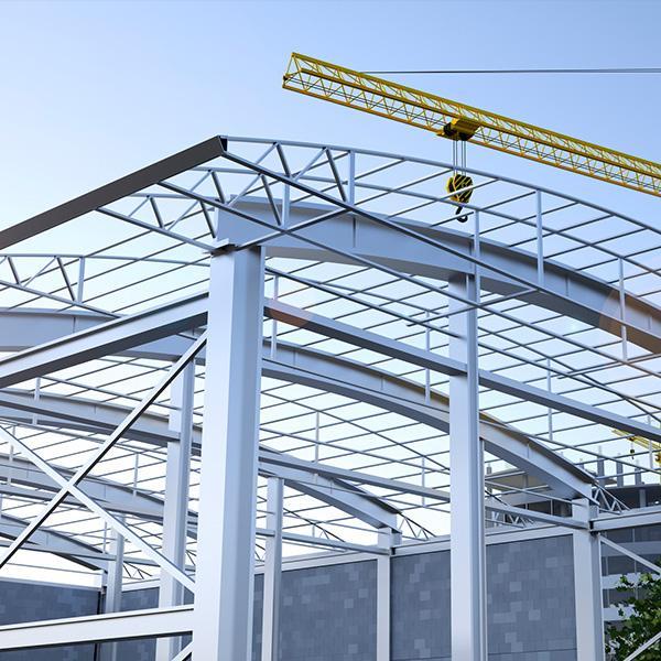 Konstrukcja metalowa budynku